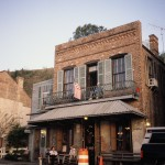 The remarkable Under the Hill Saloon in Natchez. The Mark Twain guest house is upstairs and you can't beat watching a river sunset from the balcony room (with a working fireplace). One of my favorite American moments. Always. And forever.