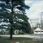 The Wagon Wheel Motel, Cuba, Mo. (recently restored)