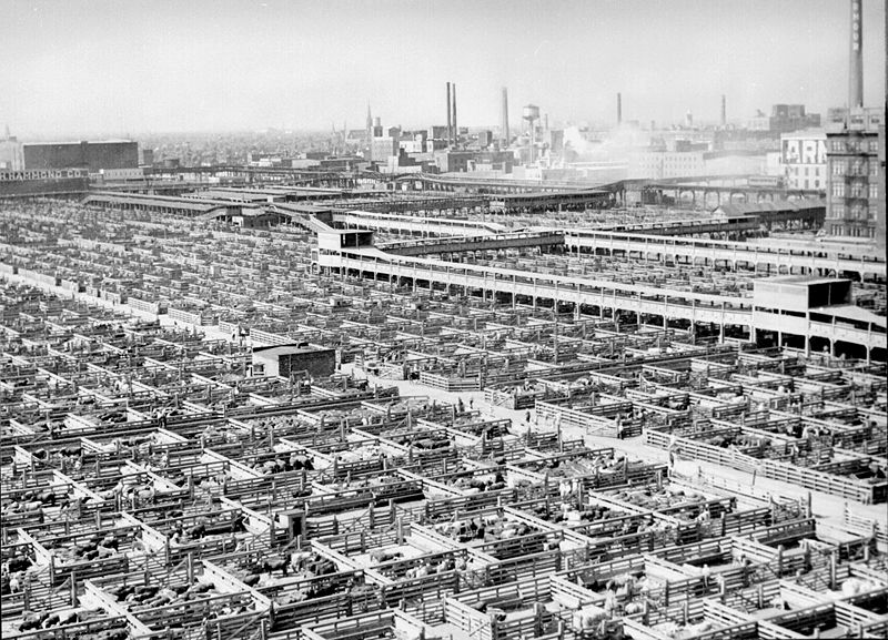 Union Stockyards, 1947
