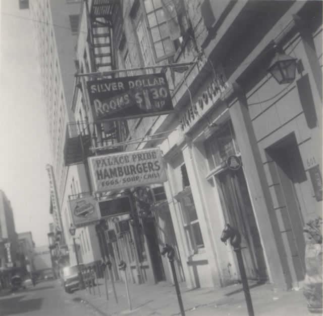Marlin's picture of his New Orleans hotel before  departing for the Amazon