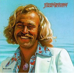 Jimmy Buffett during his drive-in days.