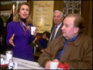 Hillary Clinton at the Busy Bee (Courtesy of Chet Madej)