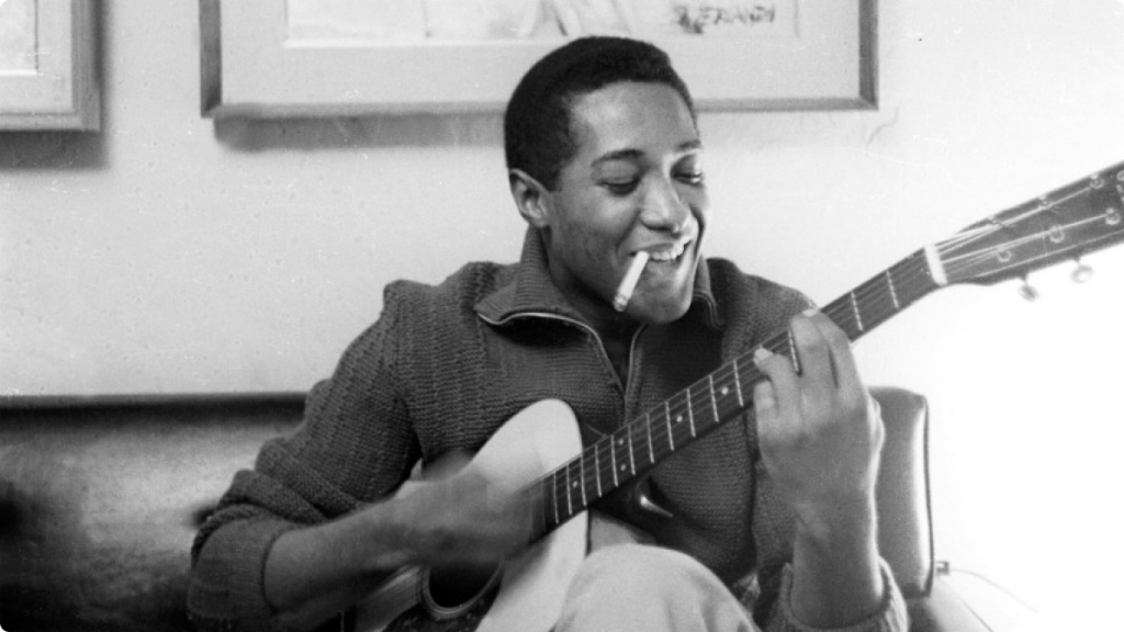Sam Cooke in his Bob Dylan phase.