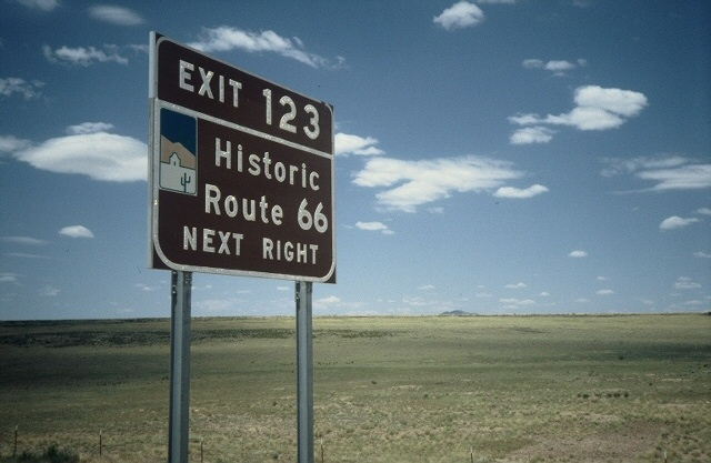 Route 66, 1991 (Dave Hoekstra photo)