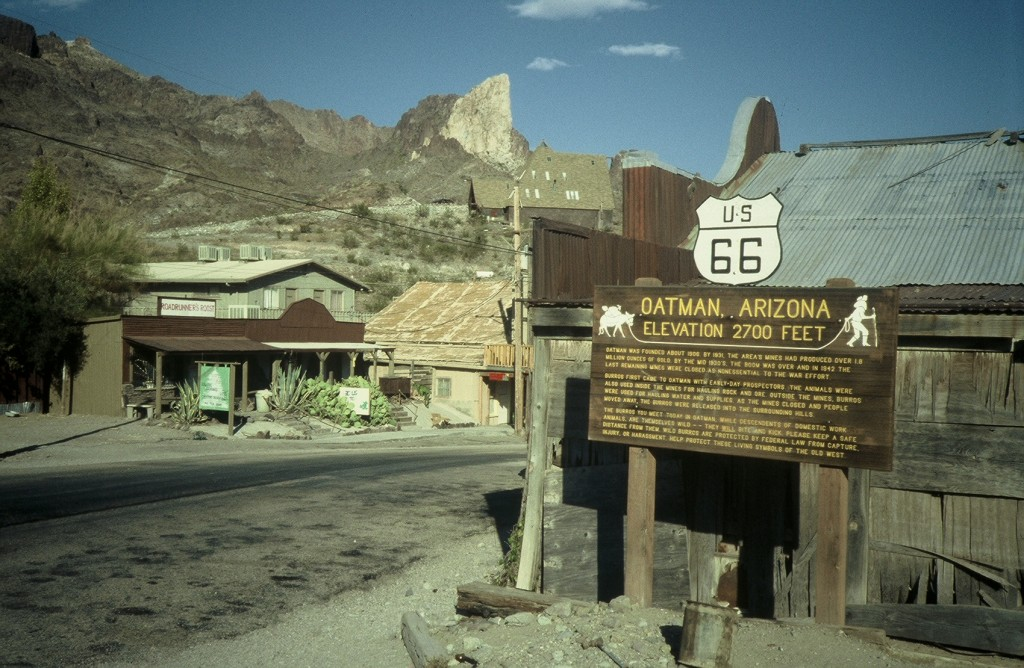 Oatman, Az., 1991 (Photos by Dave Hoekstra)