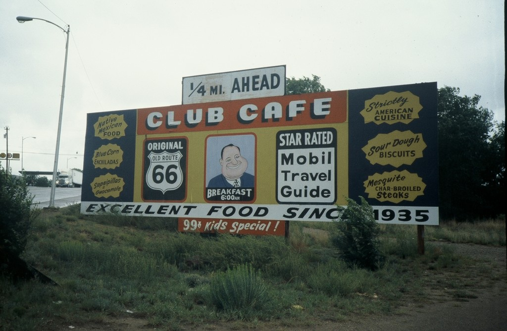 Pre-social media advertising, 1991, Route 66