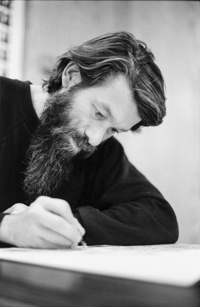 Bob Waldmire, artist and voyager, circa 1982