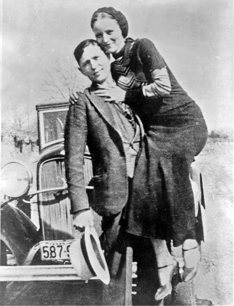 Bonnie AND Clyde hit the road.