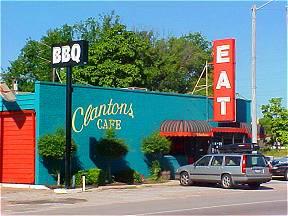 Clanton's Cafe, Vinita, Ok.