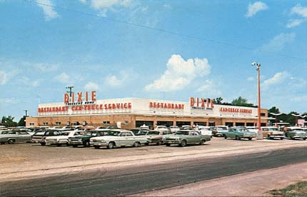 Dixie Trucker's Home back in the day when the house barber cut my hair.
