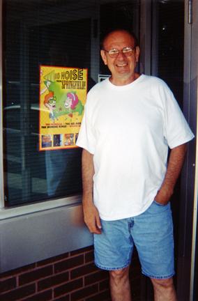 My friend Lou Whitney (Dave Hoekstra photo)