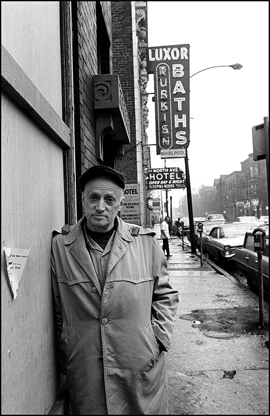 Nelson Algren when Wicker Park was real.