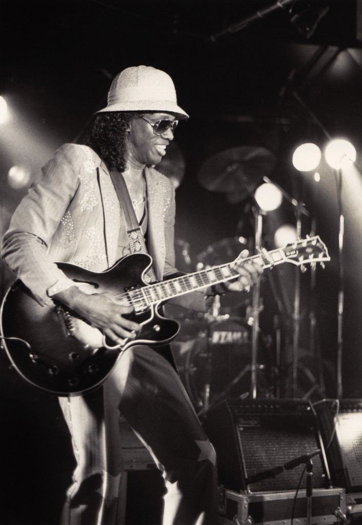 "Johnny ""Guitar"" Watson in 1987."