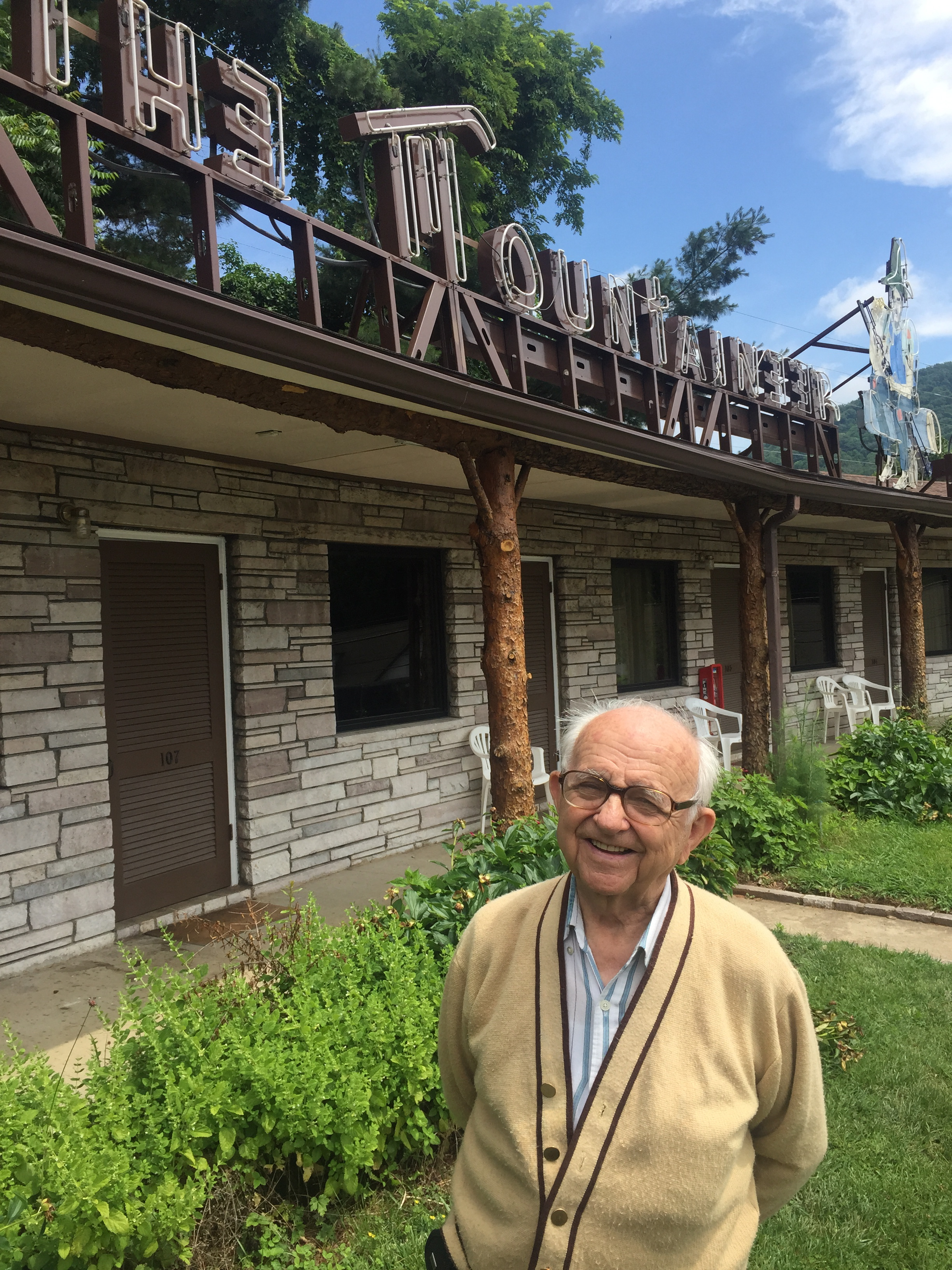 George Moutos has owned the Mountaineer since 1964.