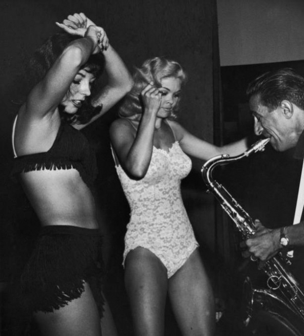 Typical mid-1960s go-go dancers-- not at Nikki's West. (Photo not by Paul Natkin)