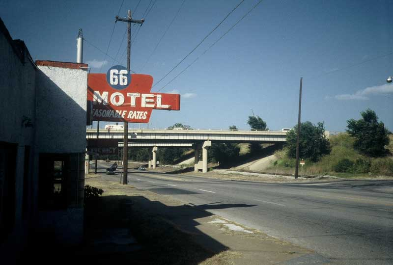 Route 66, then and now: Tulsa, Ok. 1991 (Photo by Dave Hoekstra)