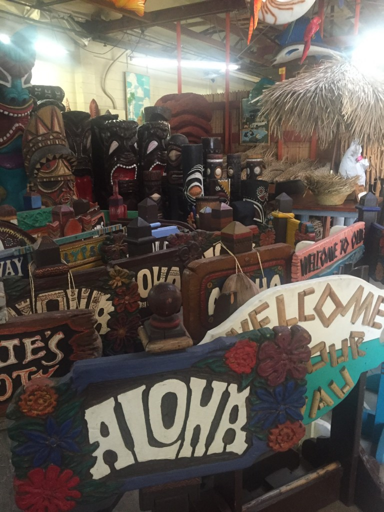 Oceanic Arts emporium, April 2016