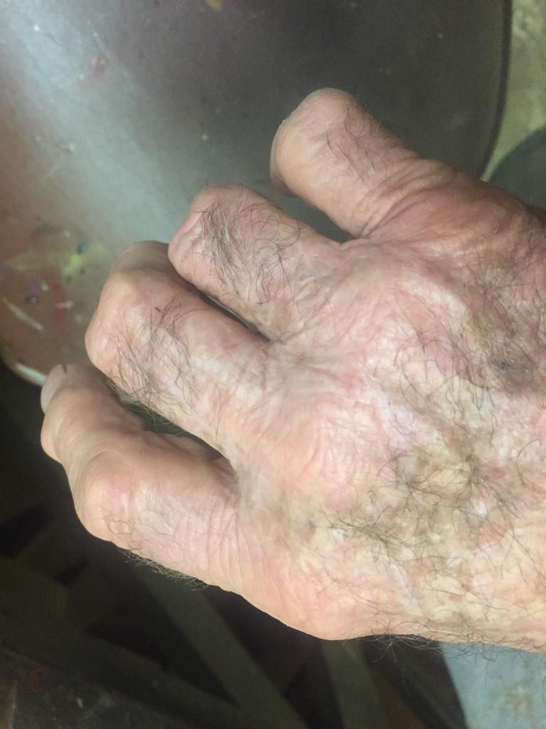 LeRoy Schmaltz--hand of a carver.