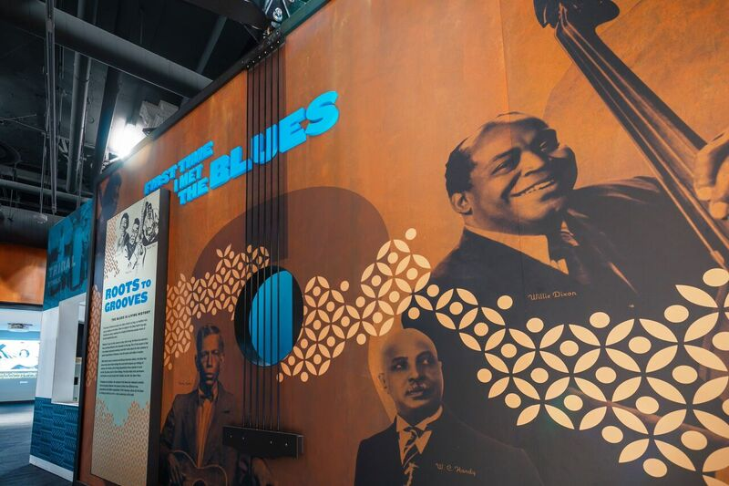 Chess Records architect Willie Dixon--his family runs a modestly visited tourist site in Chicago.
