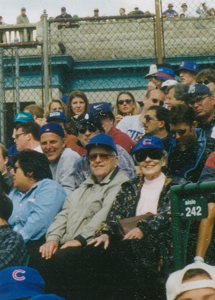 Our parents in Sec. 242, Wrigley FIeld
