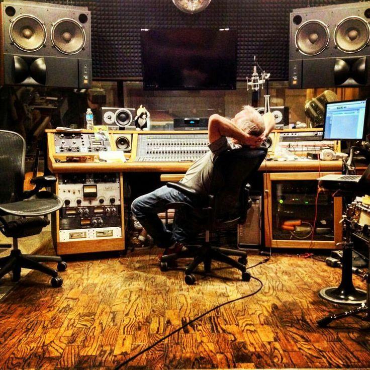 Nick Sibley in his studio